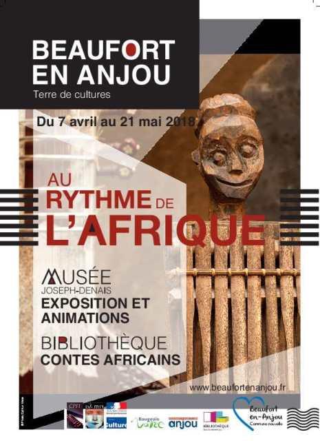 Exposition-au-rythme-de-l'Afrique-Musée-Joseph-denais-Beaufort-en-Anjou