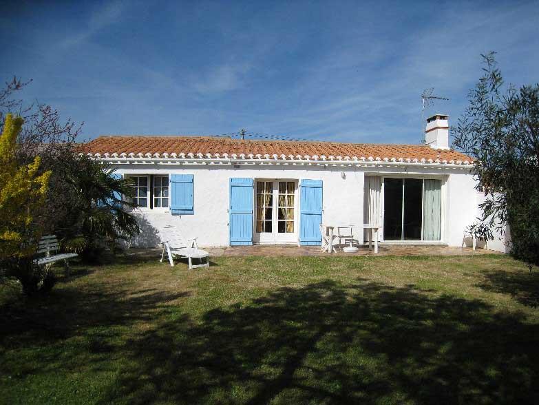 Noirmoutier maison proche de la plage et bourg du vieil - La maison de marine noirmoutier ...